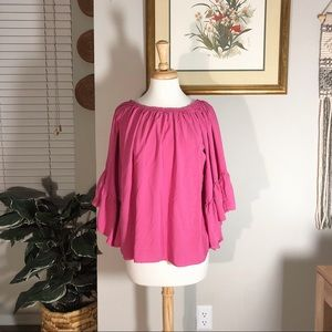 Altar'd State Ruffle Sleeve Blouse 🌙